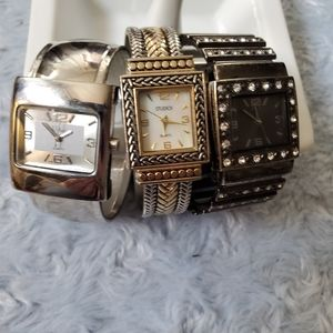Bundle of 3 Bracelet Watches